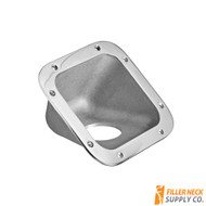 Fuel Filler Neck Protector / Dish / Housing  42° Deg Aluminum