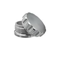 """3"""" Billet 6061 Aluminum Bung & Cap - Choose Color"""