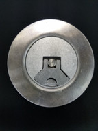 Weld In Aircraft Flush Mount Fuel Filler Cap - Aluminum Aero Type