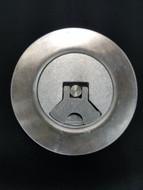 Weld In Aluminum Aircraft Flush Mount Fuel Filler Cap - Aero Type  (Curved)