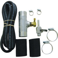 """1.50"""" Auxiliary Diesel Fuel Tank Filler Neck Adapter - Install Kit"""