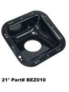 21 Degree Fuel Filler Neck Protector / Dish / Bezel Housing Square Plastic