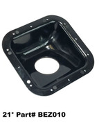 21 Degree Fuel Filler Neck Protector / Dish / Bezel Housing Square Plastic