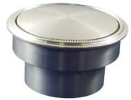 Pop Up Gas Cap - Flush Fuel Filler Cap - Popup (Weld In Aluminum)