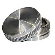 "Meziere PN6500 Aluminum Bung Weld-On Natural Bung and Cap Kit - 2-1/2"" OD"