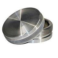 """2-1/2"""" Billet Aluminum Weld On Bung And Fill Cap T-6061"""