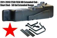 2011-2016 F250 F350 50 Gal XL Extra Capacity Diesel Fuel Tank 7020211