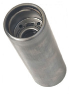 "2.25"" O.D. Gas Filler Tube / Neck - 6.75"" Tall 2-1/4"" OD - Steel SAEj1114"