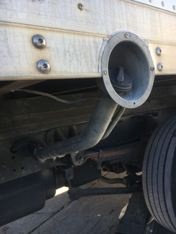Utility Truck Bed Filler Neck Housing