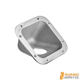 Square Fuel Filler Neck Protector / Dish / Bezel 42 Degree (FG4201-1-238)