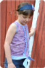 Girls Tank Top Sewing Pattern