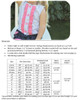 Hattie Button-Up Tank Size Chart & Materials List