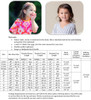 Sierra Top, Tunic, and Dress Sizing Chart