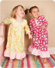 Girl's old fashioned nightgown pdf sewing pattern
