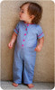 Toddler Romper Sewing Pattern: Pants, Puff Sleeves and Standard Neckline