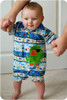 Baby Romper Sewing Pattern: Shorts and Standard Sleeves