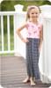 Sleeveless, maxi-length gathered skirt