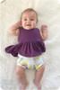 Sleeveless, standard back, peplum length gathered skirt