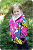 Girl's Hoodie Sewing Pattern