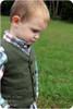 Little Gentleman Vest sewing pattern