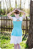 Double Layer Dress with Twist Back