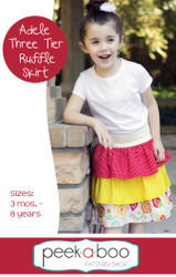 Adele 3 Tier Ruffle Skirt