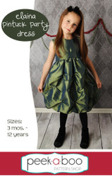 Elaina Pintuck Party Dress
