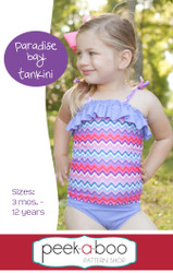 Paradise Bay Tankini PDF Sewing Pattern