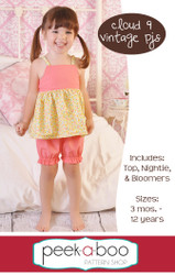 Cloud 9 Vintage PJs PDF Sewing Pattern