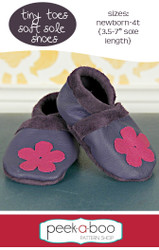 Tiny Toes Soft Sole Shoes Pattern