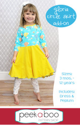 Gloria Circle Skirt Add-On