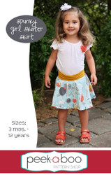 Spunky Girl Skater Skirt
