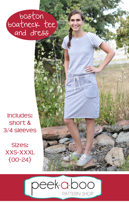 Boston Boatneck Tee and Dress