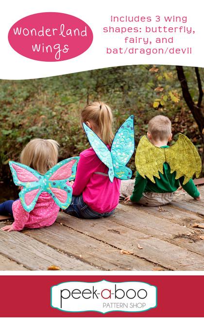 Wonderland Wings - Peek-a-Boo Pattern Shop