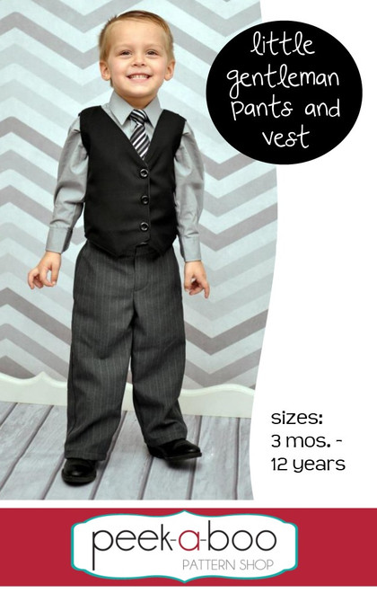 Little Gentleman Pants & Vest