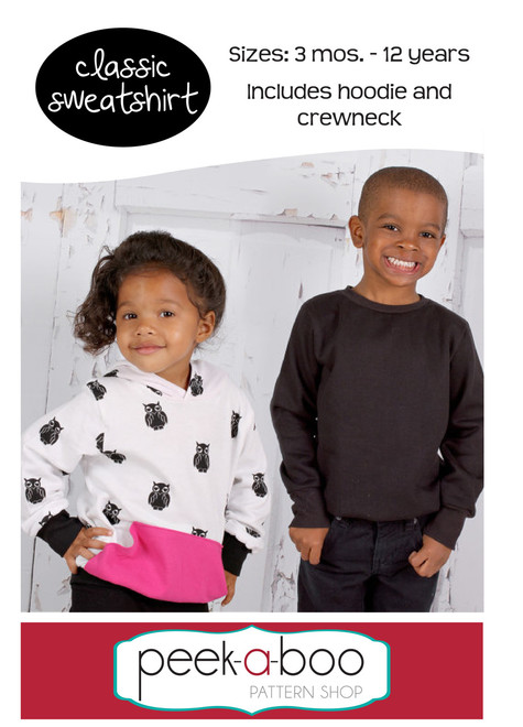 Classic Sweatshirt Pdf Sewing Pattern