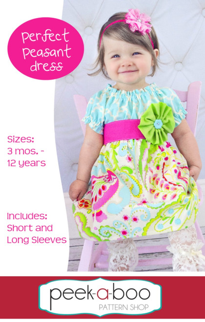 Perfect Peasant Dress PDF Sewing Pattern