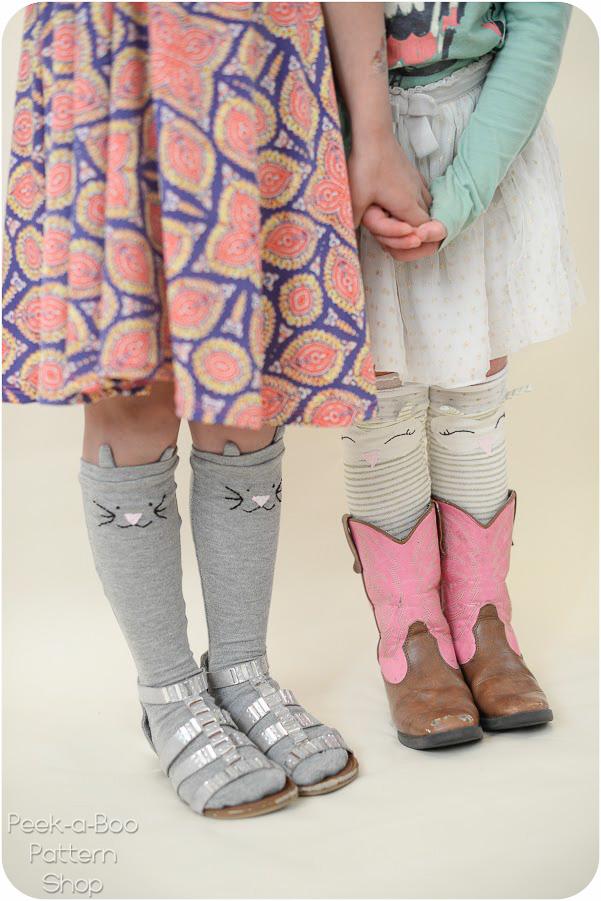 Cozy Critter Socks Peek A Boo Pattern Shop