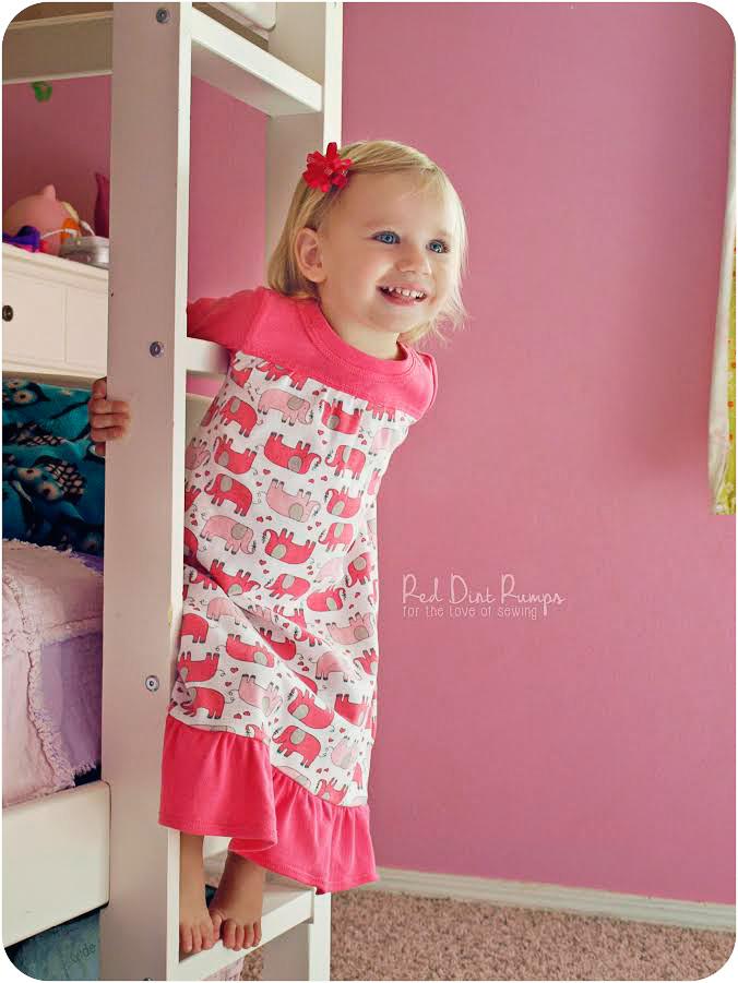 Dreamland Nightgown Peek A Boo Pattern Shop