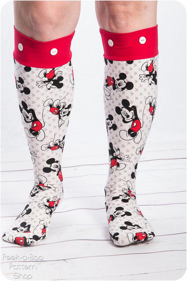 Cozy Toes Socks - Peek-a-Boo Pattern Shop
