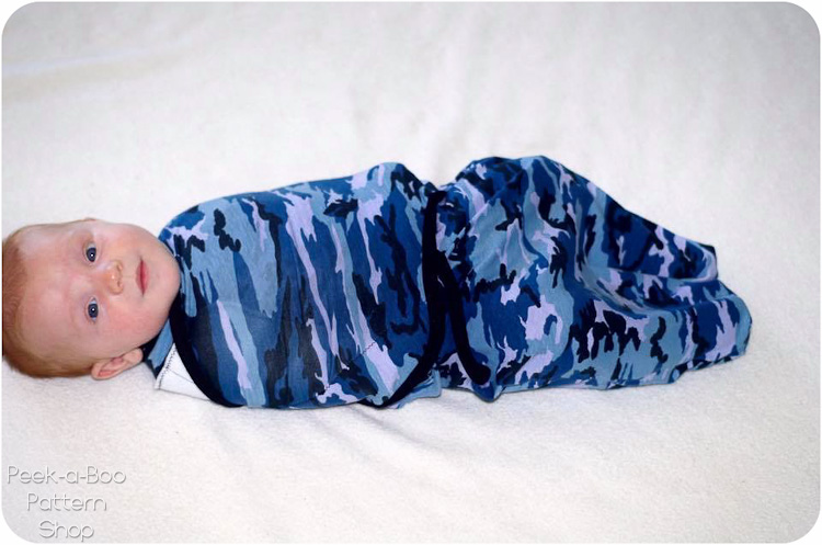 Sleep Tight Swaddle Peek A Boo Pattern Shop