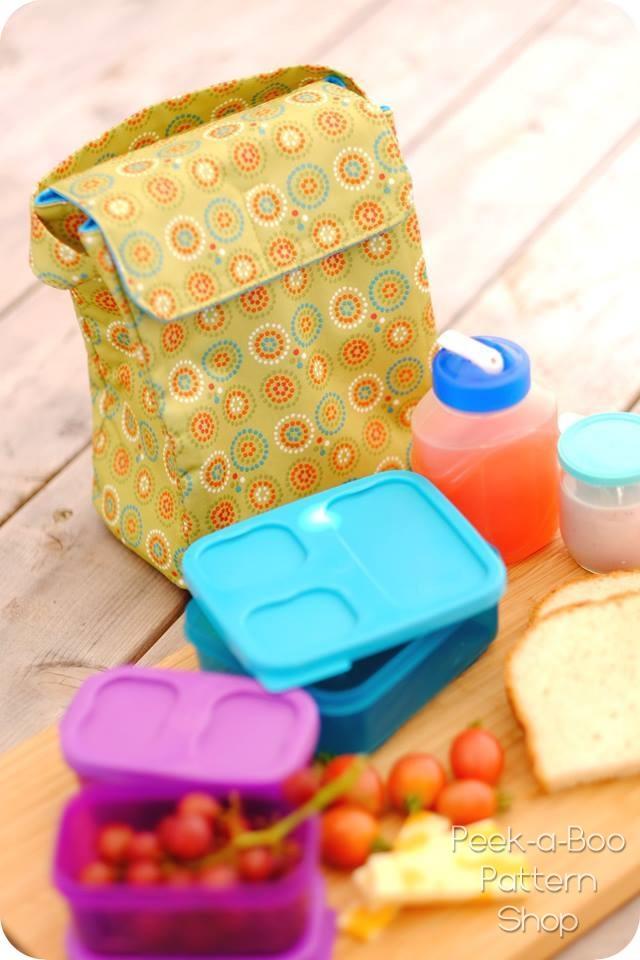 Grab n\' Go Lunch Bag - Peek-a-Boo Pattern Shop