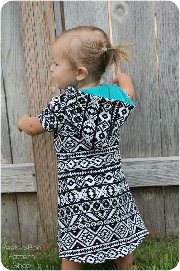Delaney Dress And Tunic PeekaBoo Pattern Shop Classy Pattern Day