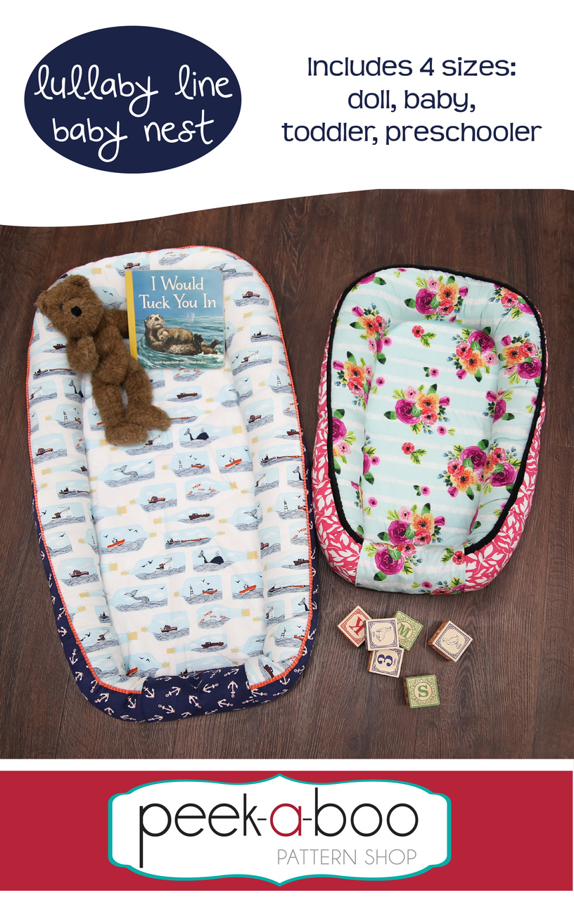 Lullaby Line Baby Nest Sewing Pattern