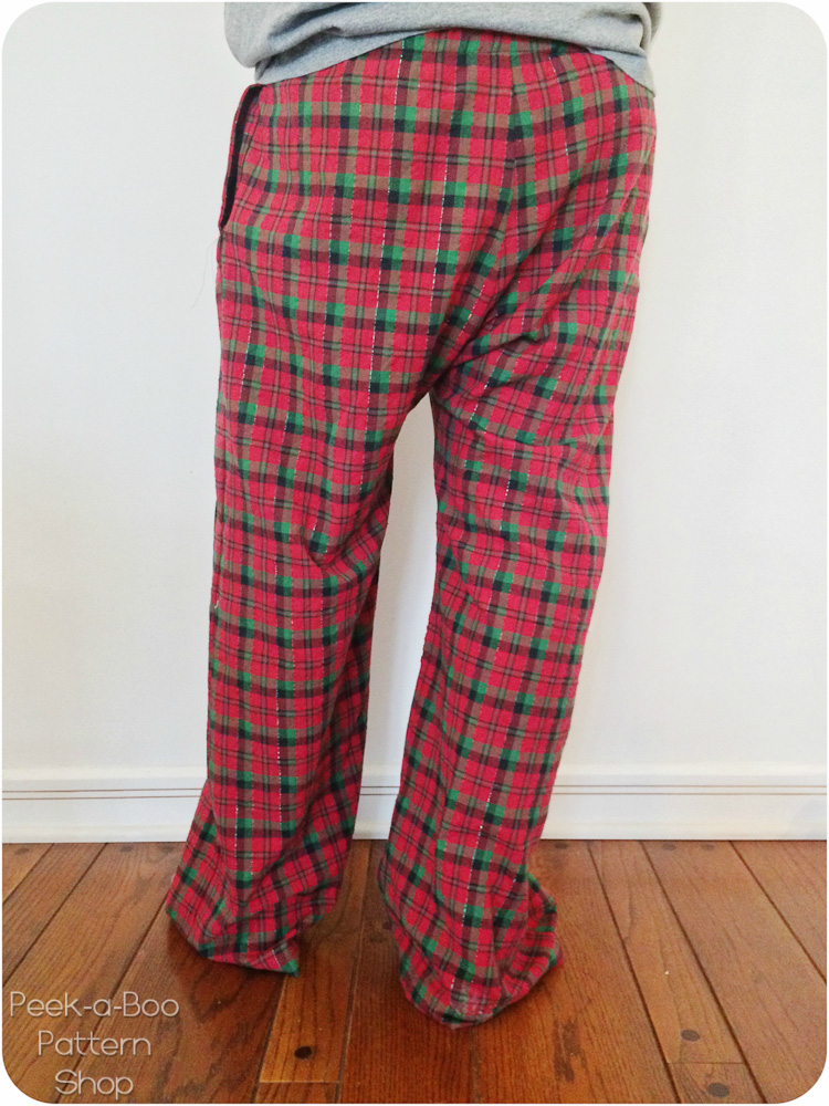 Hit The Hay Pajama Pants Sewing Pattern PeekaBoo Pattern Shop Unique Pajama Pants Pattern