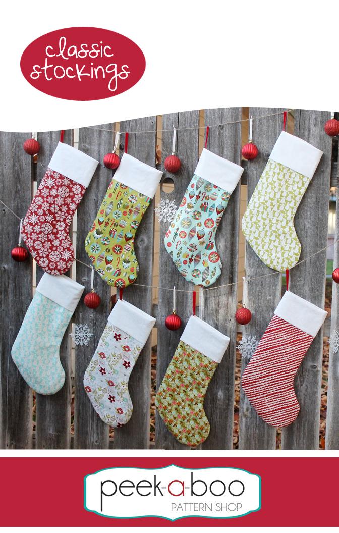 Classic Stockings - Peek-a-Boo Pattern Shop