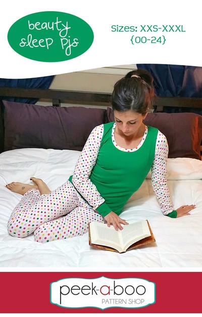 Beauty Sleep Pajamas Peek A Boo Pattern Shop