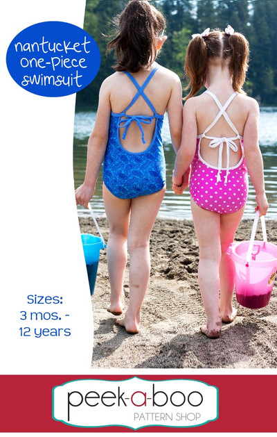Nantucket One Piece Swimsuit Pdf Sewing Pattern