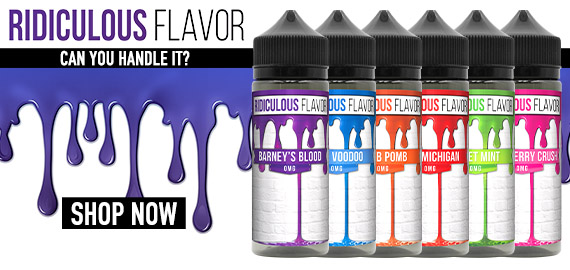 Ridiculous Flavor Vape Juice
