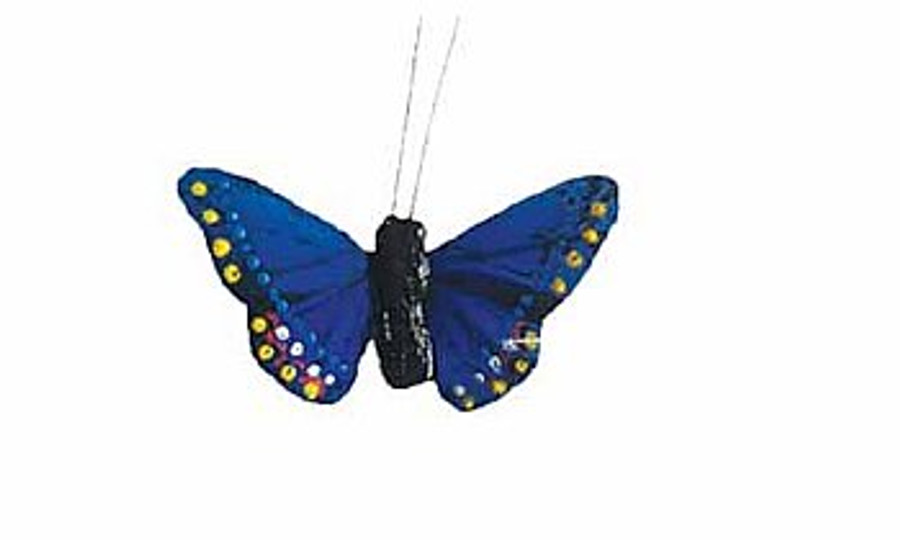 "Butterfly 3"" BLUE 1DZ #DP1008"
